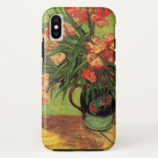 Van- Goghschöne Kunst, Vase mit Oleandern und iPhone X Hülle