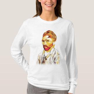 Van- Goghselbstporträt - Haar tun T-Shirt