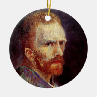 Van- Goghselbstporträt Keramik Ornament