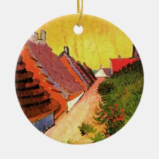 Van- Goghstraße in Saintes Marie, Vintage feine Keramik Ornament