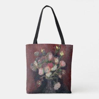Van- GoghVase mit chinesischen Astern und den Tasche