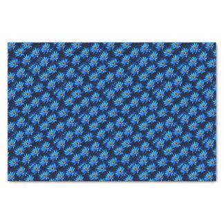 Van- Goghwasserlilienblau Seidenpapier