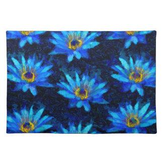 Van- Goghwasserlilienblau Tischset