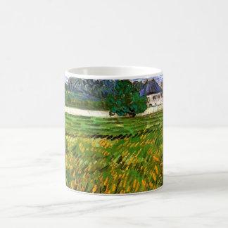 Van- Goghweizen-Feld bei Auvers mit dem Weißen Kaffeetasse