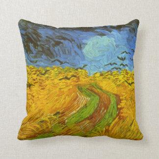 Van- Goghweizen-Feld mit Krähen, Vintage feine Kissen