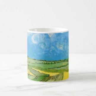 Van- Goghweizen-Felder bei Auvers unter bewölktem Kaffeetasse