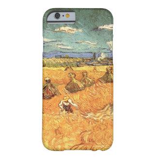 Van- Goghweizen-Stapel mit Sensenmann-Vintager Barely There iPhone 6 Hülle