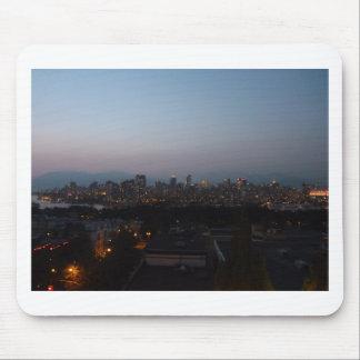 Vancouver-Abend Mousepad