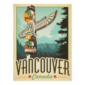 Vancouver, Kanada Postkarte
