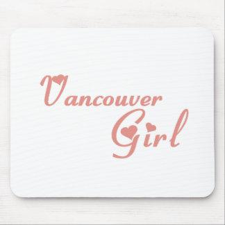 Vancouver-Mädchen Mousepads