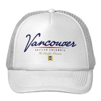 Vancouver-Skript Baseball Caps