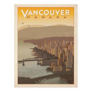 Vancouver-Skyline | Kanada Postkarte