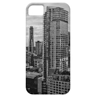 Vancouverschwarzweiss-Skyline iPhone 5 Case