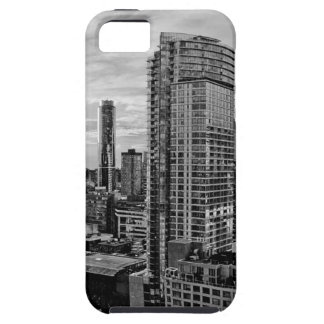 Vancouverschwarzweiss-Skyline iPhone 5 Etui