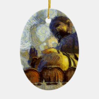 vangogh_budha keramik ornament