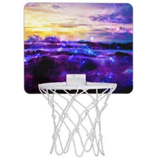 Vanille-Dämmerung Mini Basketball Netz