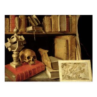 Vanitas mit einem Sundial, c.1626-40 Postkarte