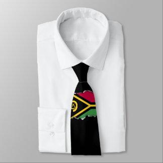 Vanuatu-Flagge Bedruckte Krawatte