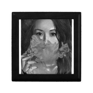 Vape Dame Smoking Hot Design Erinnerungskiste