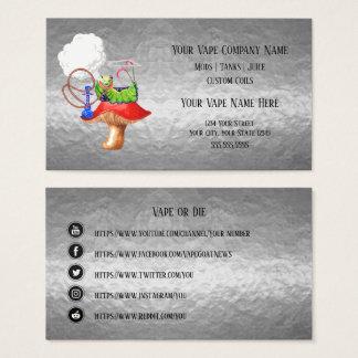VAPE   Huka-Silber-Geschäfts-sozial-Medien Visitenkarte