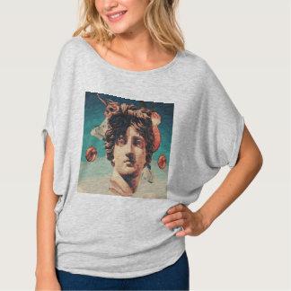 Vaporwave ästhetisches Statue-Frauen-Shirt T-Shirt