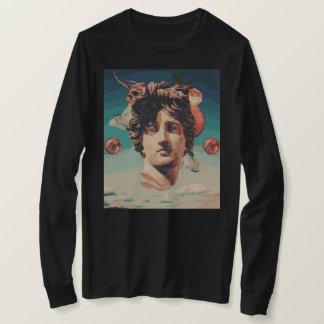 Vaporwave ästhetisches Statue-Frauen-Sweatshirt T-Shirt