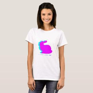 Vaporwave Häschen - ich mag Sprung T-Shirt