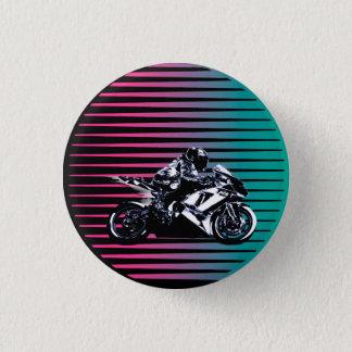 Vaporwave Moto Knopf Runder Button 3,2 Cm