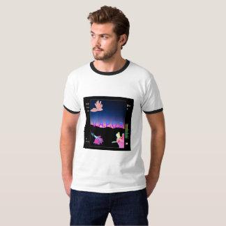 Vaporwave Selfie Nocken-T-Shirt T-Shirt