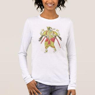 Varaha, graviert von de Marlet (Farbelitho) Langarm T-Shirt