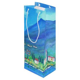 Varenna - kundenspezifische Geschenk-Tasche - Geschenktüte Für Weinflaschen