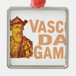Vasco da Gama Silbernes Ornament