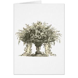 Vase Blumen - Antiquarian-Kunst Karte