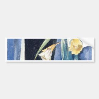 Vase Blumen - Preston Dickinson Autoaufkleber