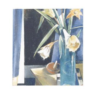Vase Blumen - Preston Dickinson Notizblock