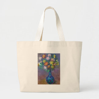 Vase Chrysanthemen Claude Monet Jumbo Stoffbeutel
