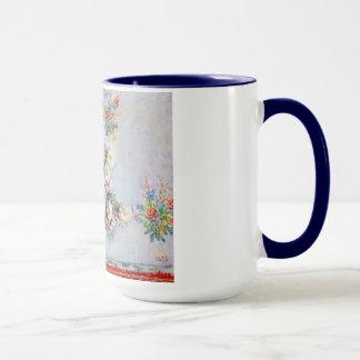 Vase Chrysanthemen Claude Monet Tasse