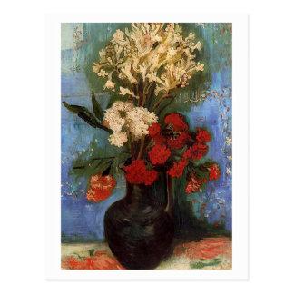 Vase mit Gartennelken durch Vincent van Gogh Postkarten