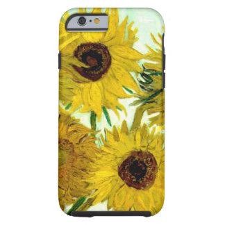 Vase mit zwölf Sonnenblumen, Van- Goghschöne Kunst Tough iPhone 6 Hülle