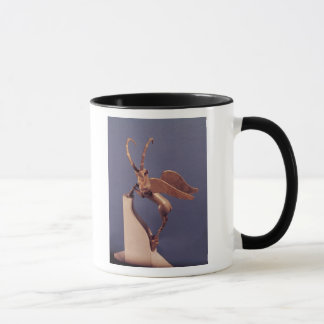 Vasengriff in Form eines winged Steinbocks Tasse