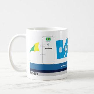 vasp Fluglinien Kaffeetasse