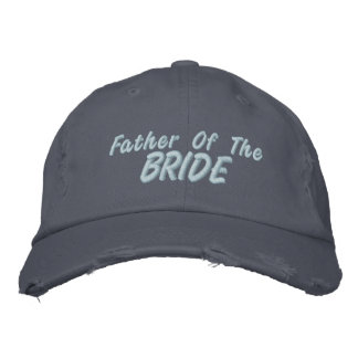 Vater der Braut Bestickte Baseballkappe