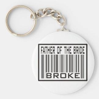Vater der Braut brach Schlüsselanhänger