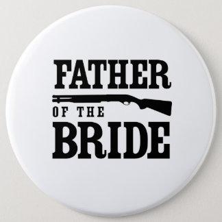 Vater der Braut Runder Button 15,3 Cm