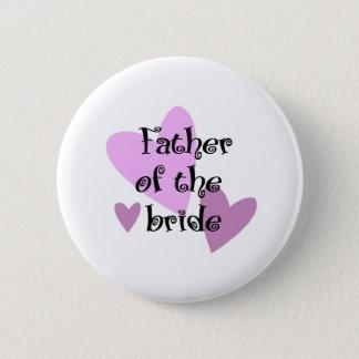 Vater der Braut Runder Button 5,1 Cm