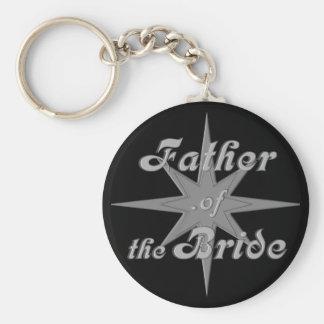 Vater der Braut-Schlüsselkette Schlüsselanhänger