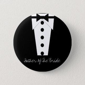 Vater des Braut-Knopfes Runder Button 5,7 Cm