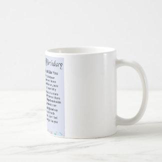 Vater-Gedicht - 40. Geburtstag Kaffeetasse