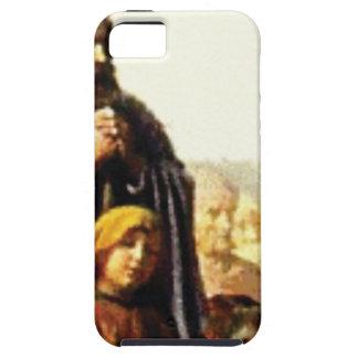 Vater und Kind in der Menge iPhone 5 Schutzhüllen