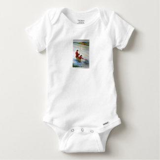 Vater- und Sohn-Angelausflug Baby Strampler